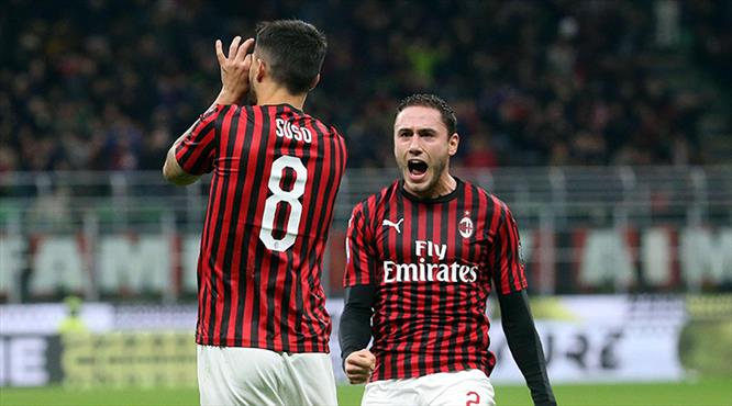 Milan'a tek gol yetti (ÖZET)
