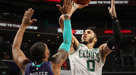 Boston son kurbanı Charlotte Hornets