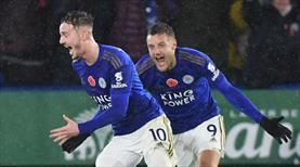 Leicester'ın son kurbanı Arsenal