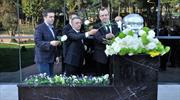 Başkan Çebi, Atatürk'ü anma törenine katıldı