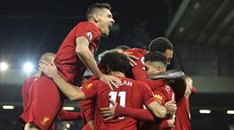 Liverpool'un yenilmezlik serisi sürüyor