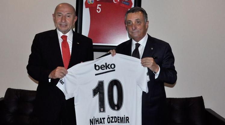 Ahmet Nur Çebi'den Nihat Özdemir'e ziyaret