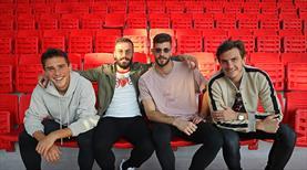 Göztepe'nin yeni stadında koltuk montajı başladı