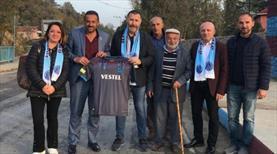 Trabzonspor'dan mahalle ziyareti