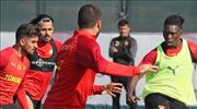 Göztepe'de hazırlıklar sürüyor