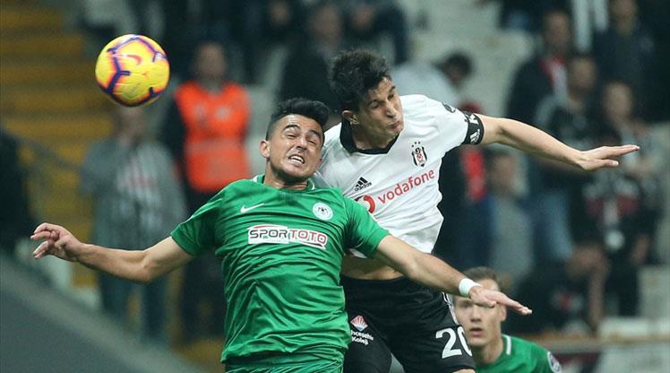 Eksik Beşiktaş Konya deplasmanında