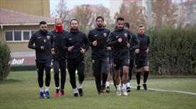 Kayserispor'da eksikler takıma katıldı
