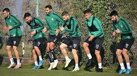 Konyaspor, Rizespor hazırlıklarını sürdürdü
