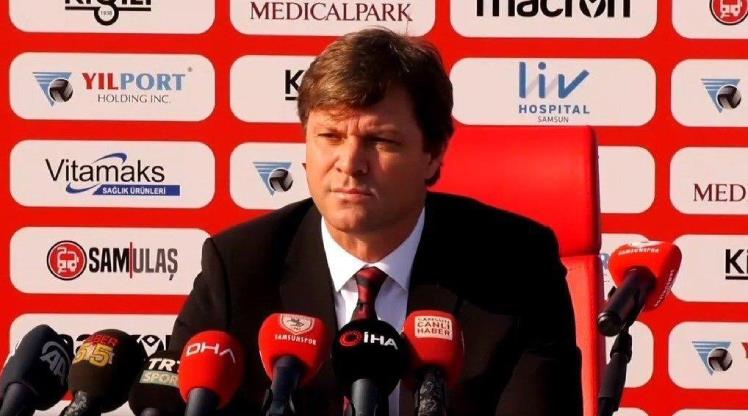 Sağlam, Samsunspor'daki hedeflerini anlattı