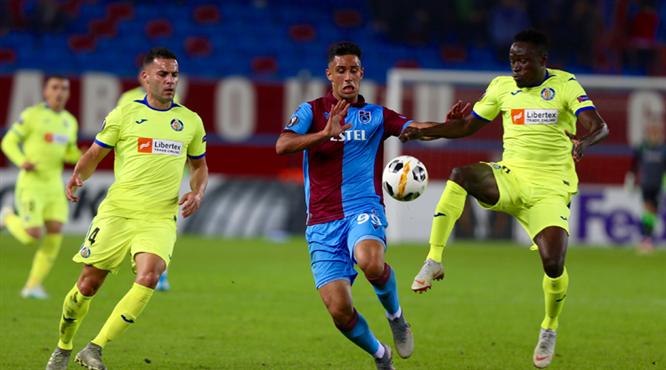 Trabzonspor - Getafe: 0-1 (ÖZET)