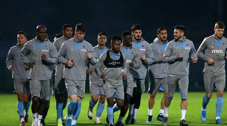 Trabzonspor'da Galatasaray mesaisi başladı