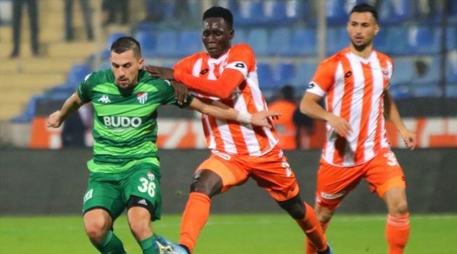 Adanaspor: 2 - Bursaspor: 3 (ÖZET)
