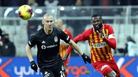 Beşiktaş - İM Kayserispor maçının notları burada
