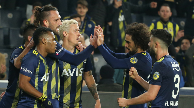 Fenerbahçe - Gençlerbirliği: 5-2 (ÖZET)