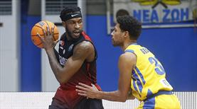 Gaziantep Basketbol, Yunanistan'da kayıp