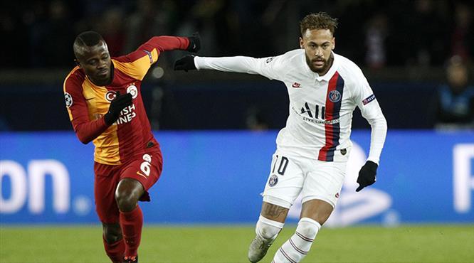 PSG - Galatasaray: 5-0 (ÖZET)