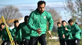 Konya'da Jevtovic ve Ali antrenmana katıldı