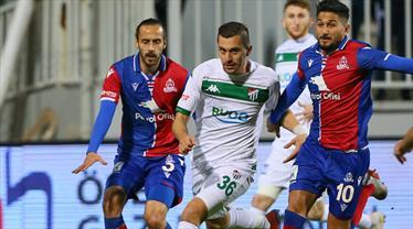 Altınordu: 0 - Bursaspor: 0 (ÖZET)