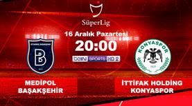 Başakşehir'in konuğu Konyaspor