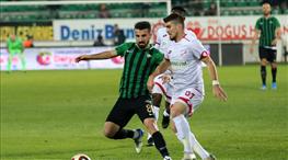 Akhisarspor: 0 - Boluspor: 0 (ÖZET)