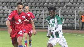 Giresunspor - Altınordu: 1-1 (ÖZET)