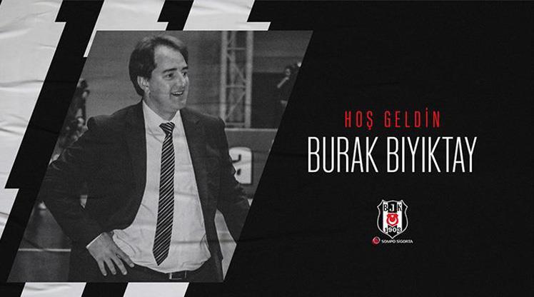 Beşiktaş Sompo Sigorta'da Burak Bıyıktay dönemi