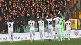 Eskişehirspor'da gol yükünü yabancılar çekti