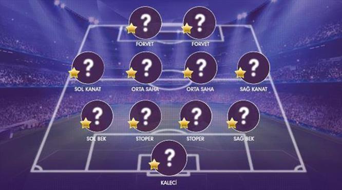 Süper Lig'de ilk yarının en iyi 11'i