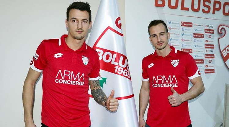 Boluspor yeni transferlerini tanıttı!