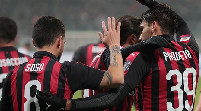 Milan 3'lük attı (ÖZET)