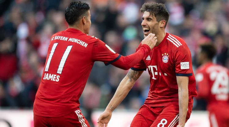 Bayern, Dortmund'un ensesinde