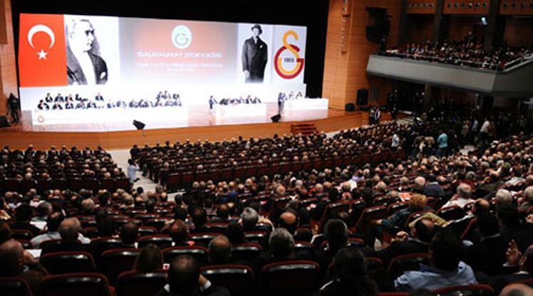 Galatasaray'da olağan genel kurul toplanıyor