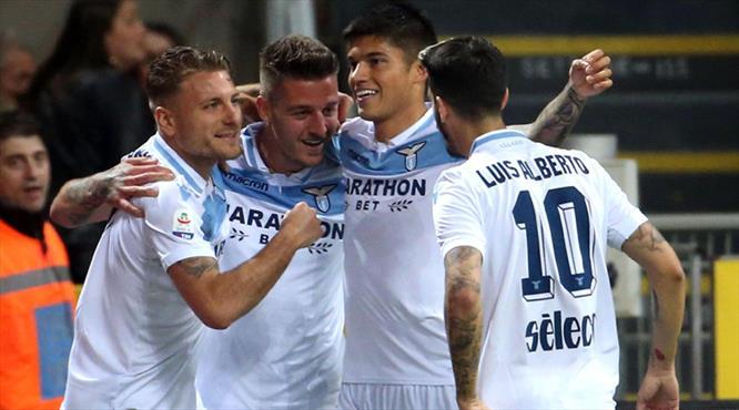 Lazio Giuseppe Meazza'dan tek golle çıktı! (ÖZET)