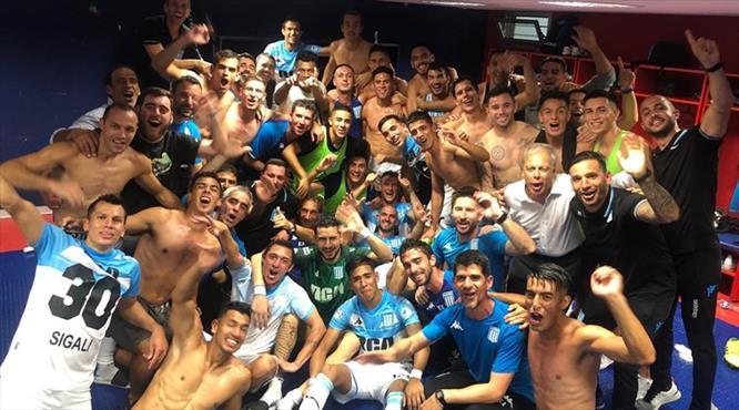 Arjantin'de şampiyon Racing Club!
