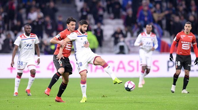 Rennes ligin rövanşını kupada aldı! (ÖZET)