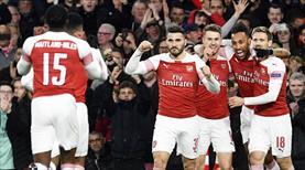 Arsenal evinde kral