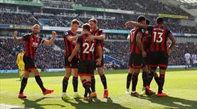 Bournemouth'tan gol şov: 5-0 (ÖZET)