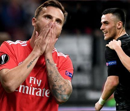 Benfica'ya büyük şok! Frankfurt tarih yazdı (ÖZET)
