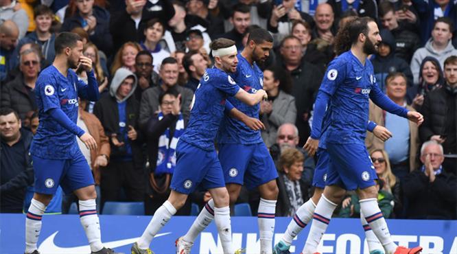 Chelsea 2. yarı açıldı (ÖZET)