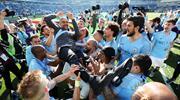 City şampiyonluğu böyle kutladı