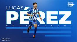 Lucas Perez Alaves'te