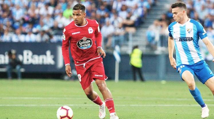Deportivo Malaga'ya şans tanımadı (ÖZET)