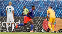 Kolombiya Arjantin'i ikinci yarıda yıktı