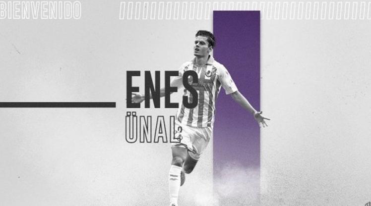 Enes Ünal, Real Valladolid'de kiralık kaldı