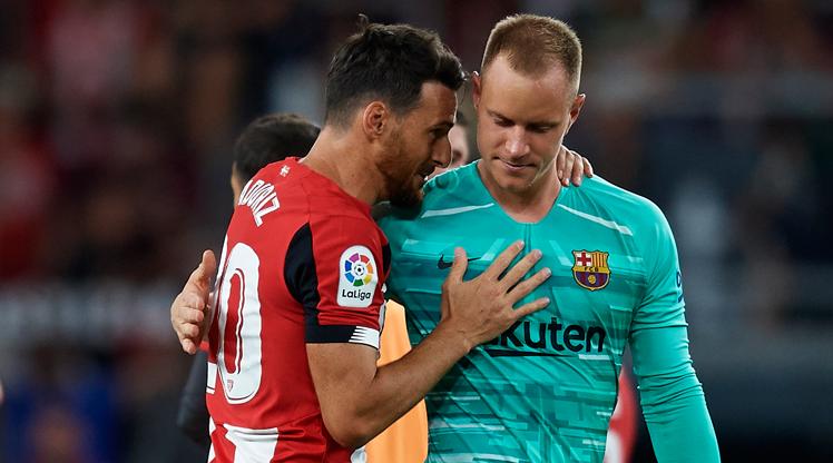Aduriz'den Barça'ya sevgilerle