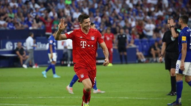 Lewa coştu, Bayern şov yaptı