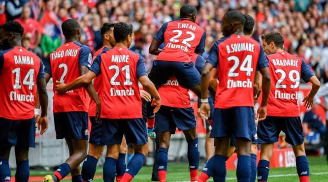 Lille Angers'i tek farkla geçti