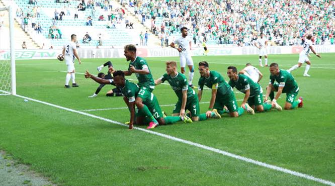 Bursaspor - Osmanlıspor: 3-1 (ÖZET)