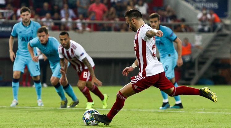 Valbuena'nın gecesinde Olympiakos pes etmedi, geri döndü (ÖZET)