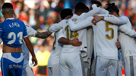 Real Madrid zorlanmadı